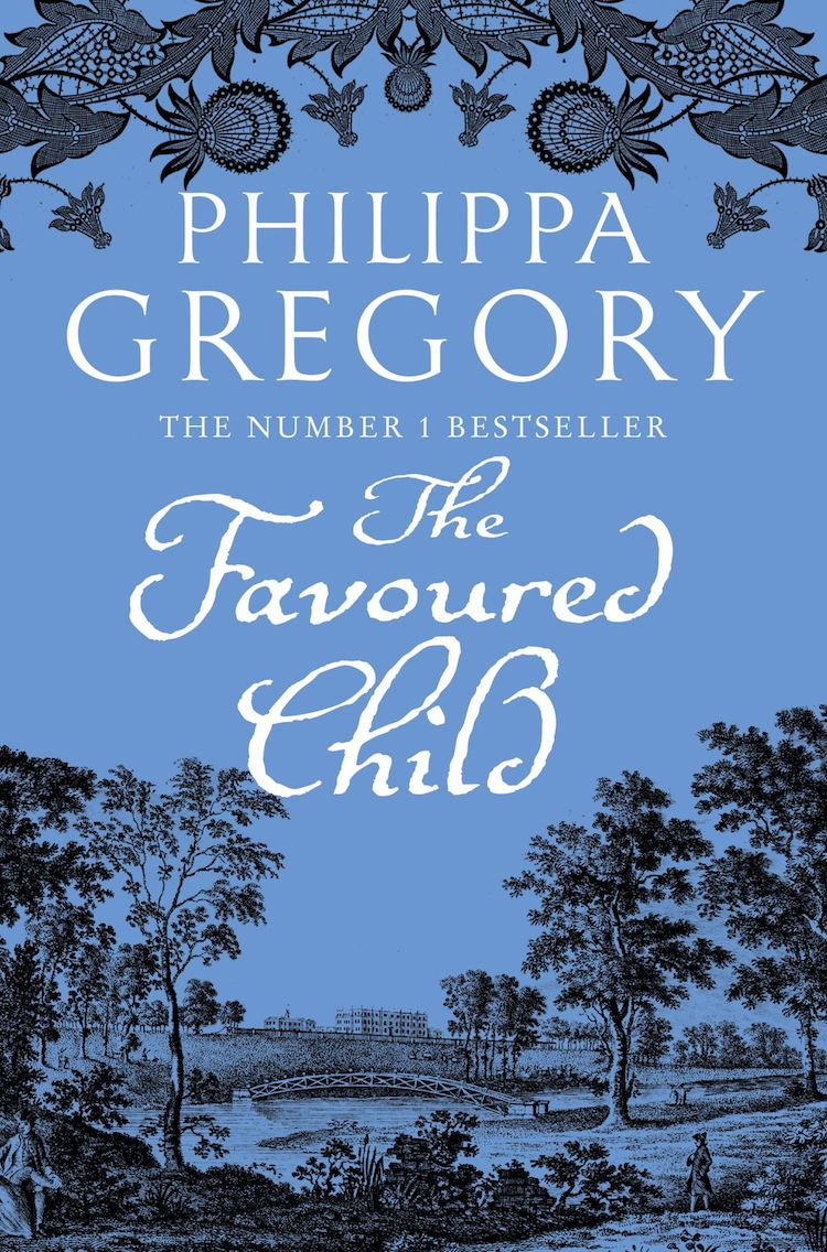 The Favoured Child UK Cover